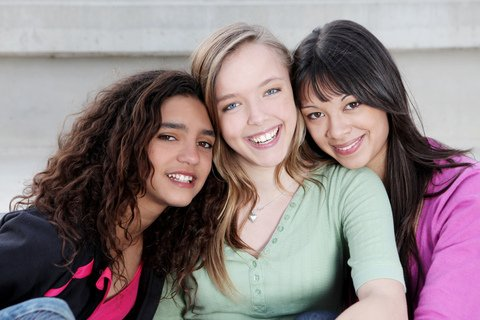 smile with invisalign teen